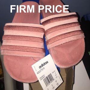 Adidas Velvet Slides